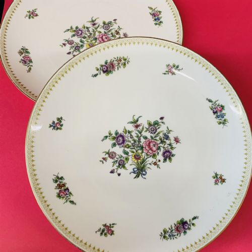 Copeland Spode - Waring & Gillow - Floral - Dinner/ServingPlate x 2